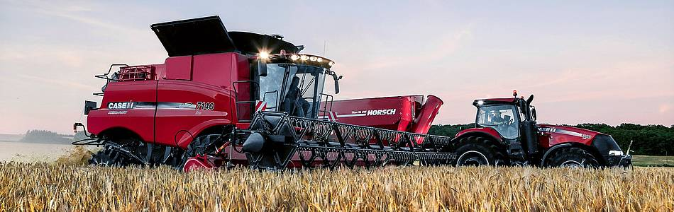 Ny Axial-Flow 250 Serie med AFS Harvest Command